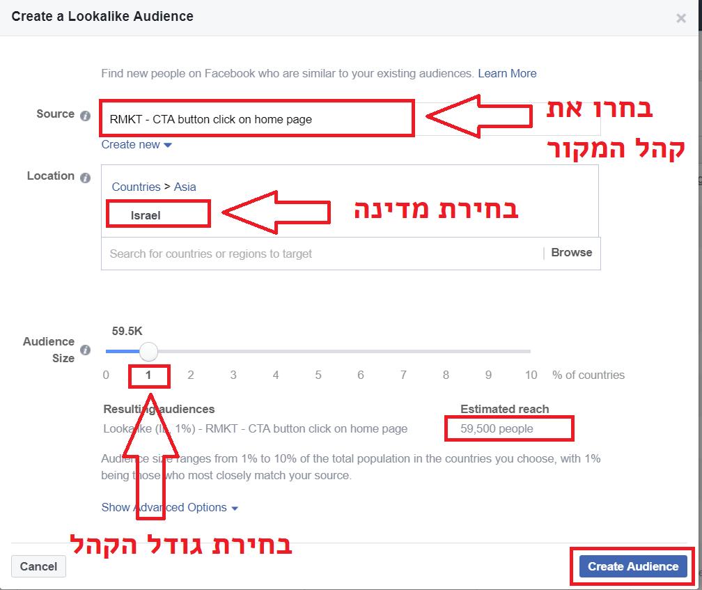 בניית קהלי Lookalike על סמך איוונטים בפיקסל של פייסבוק - יוריס דיגיטל