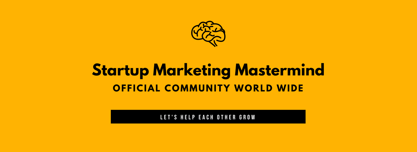 Startup Marketing Mastermind Community