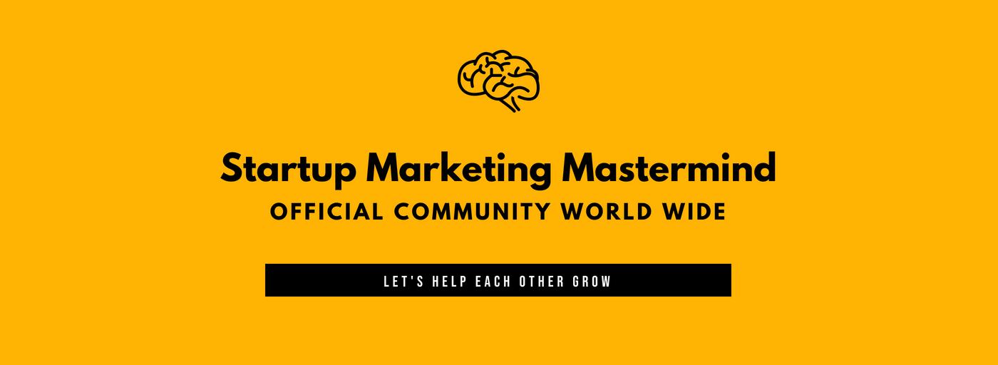 Startup Marketing Mastermind Community